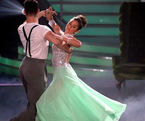 COLOGNE, GERMANY - APRIL 15: Sarah Lombardi and Robert Beitsch perform on stage during the 5th show of the television competition 'Let's Dance' at Coloneum on April 15, 2016 in Cologne, Germany. (Photo by Sascha Steinbach/Getty Images)