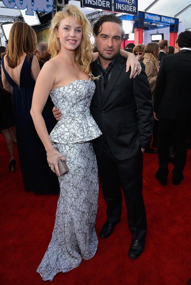 Big Bang Theory: Darsteller Johnny Galecki mit Kelli Garner