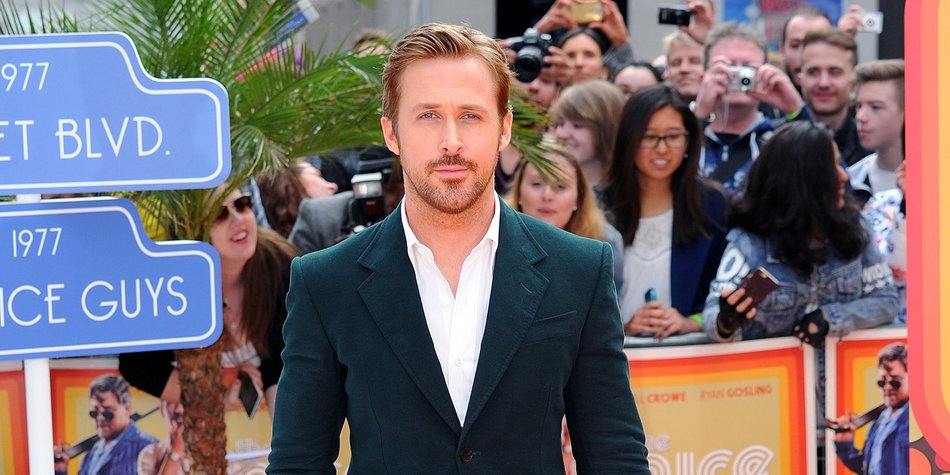 LONDON, ENGLAND - MAY 19: Ryan Gosling attends the 'The Nice Guys' UK Premiere at Odeon Leicester Square on May 19, 2016 in London, England. (Photo by Eamonn M. McCormack/Getty Images)