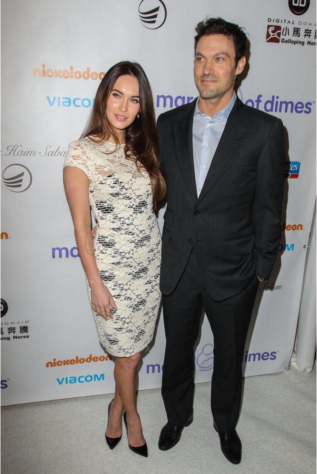 Megan Fox und Brian Austin bei einem Event