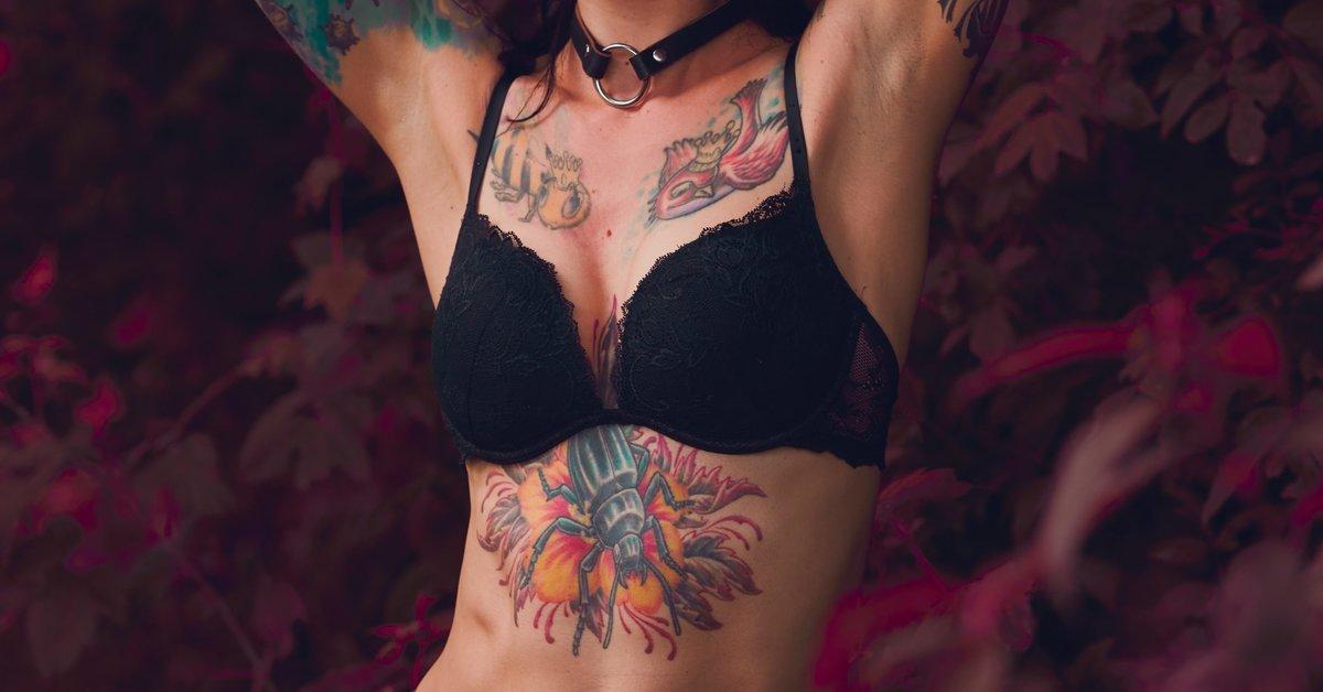 Für frauen bauch tattoo motive 40 Dezente
