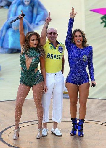 Pitbull bei der WM