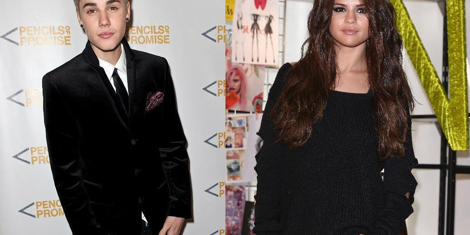 Justin Bieber und Selena Gomez: Kussfotokrieg via Twitter?