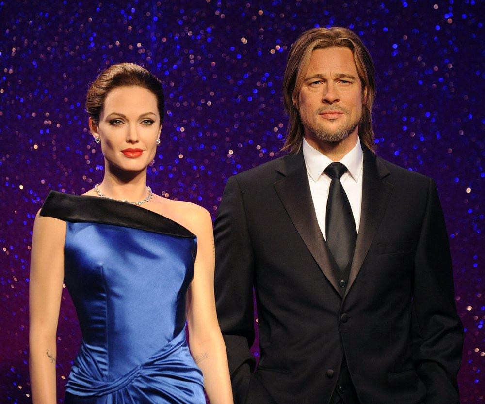 Madame Tussauds Unveil New Wax Figures Of Brad Pitt And Angelina Jolie
