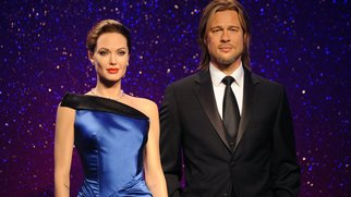 Madame Tussauds Unveil New Wax Figures Of Brad Pitt And Angelina Jolie