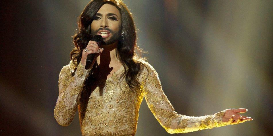Eurovision Song Contest: Conchita Wurst zittert sich ins Finale