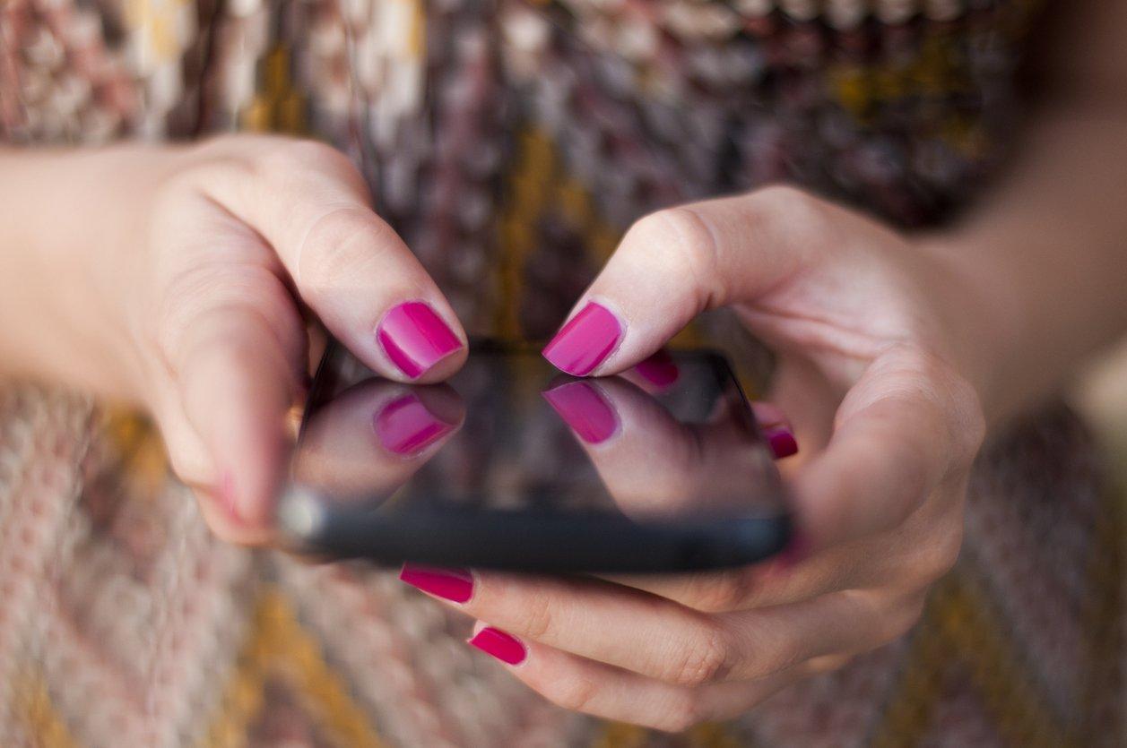 Smartphone schreiben