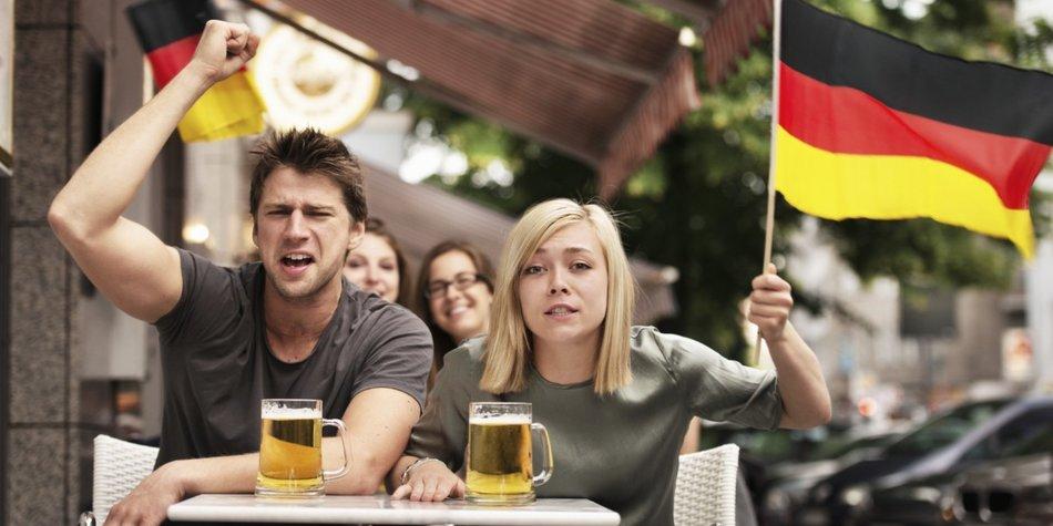 Deutschland EM Fans