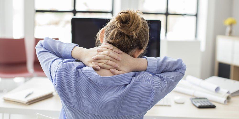 Angewohnheiten, die den Rücken schädigen