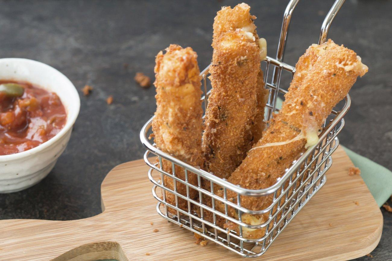 Mozzarella-Sticks selber machen