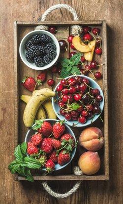 Basisches Obst