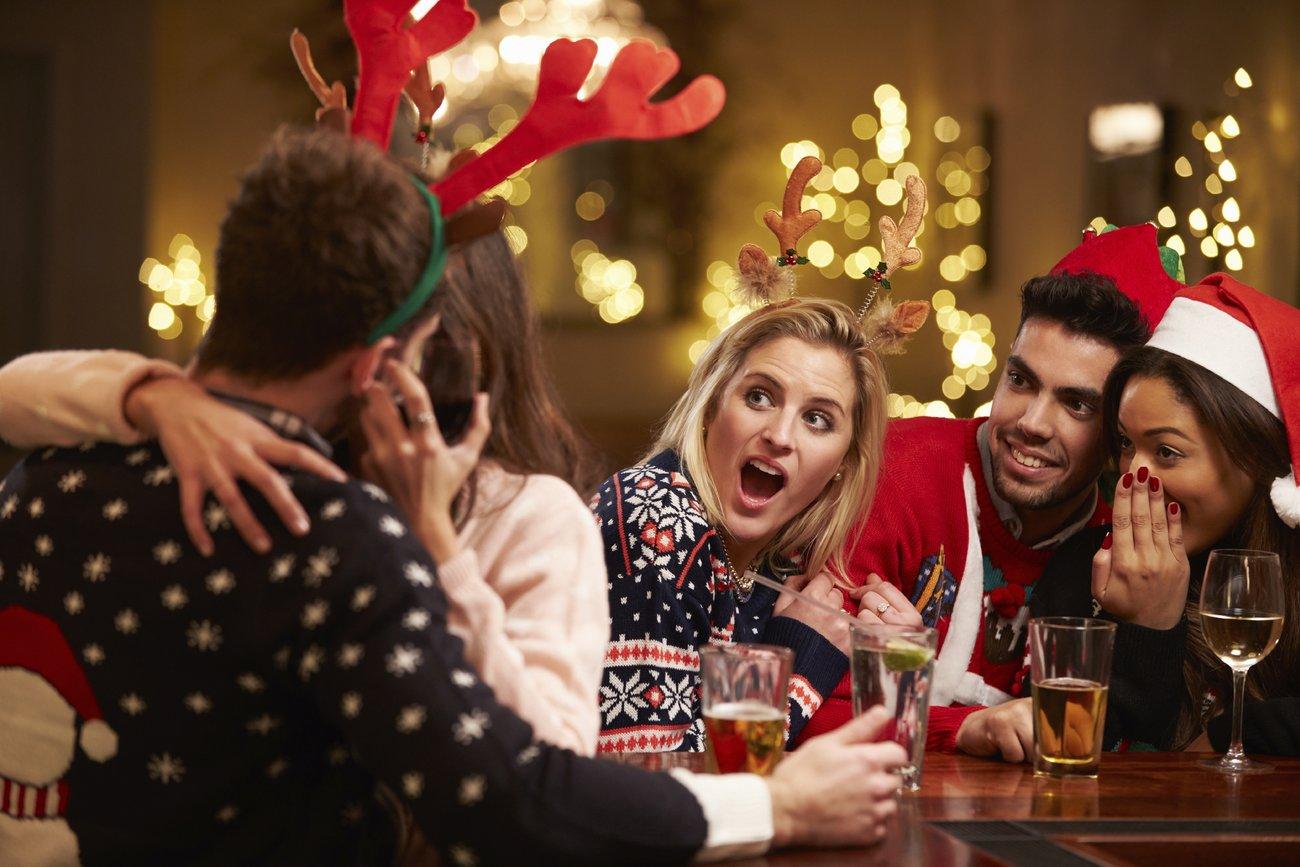 Sex auf der Weihnachtsfeier