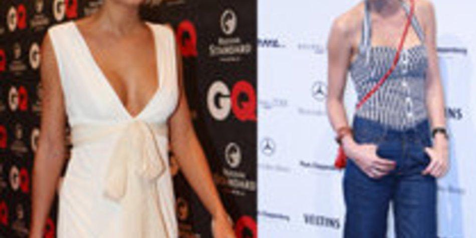 Fashion Week: Lena Gercke wird immer dünner!