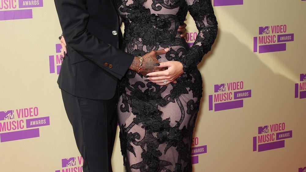 Amber Rose und Wiz Khalifa bestätigen Babygerüchte!