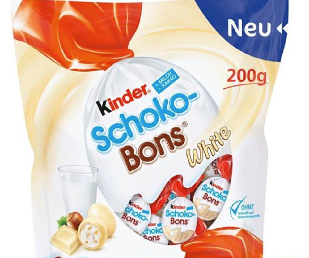 kinder Schoko-Bons white
