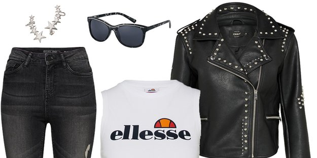 Outfit des Tages: Rockin' the sun