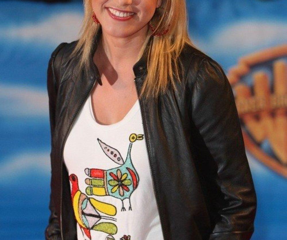 Nadine Krüger ist Mutter