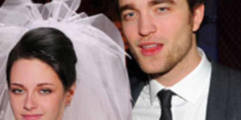 Robert Pattinson und Kristen Stewart haben geheiratet!