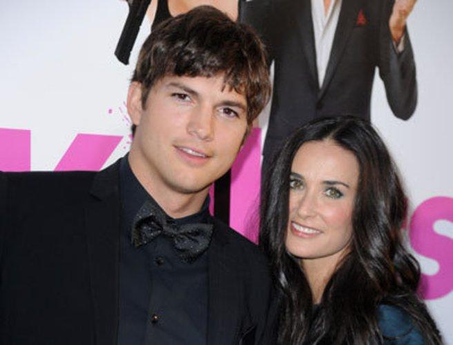 Demi Moore und ihr Mann Ashton Kutcher im Juni 2010