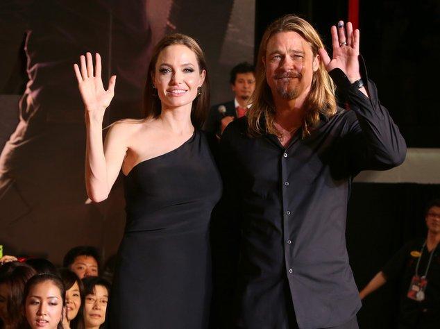 Angelina Jolie und Brad Pitt bei einer Filmpremiere