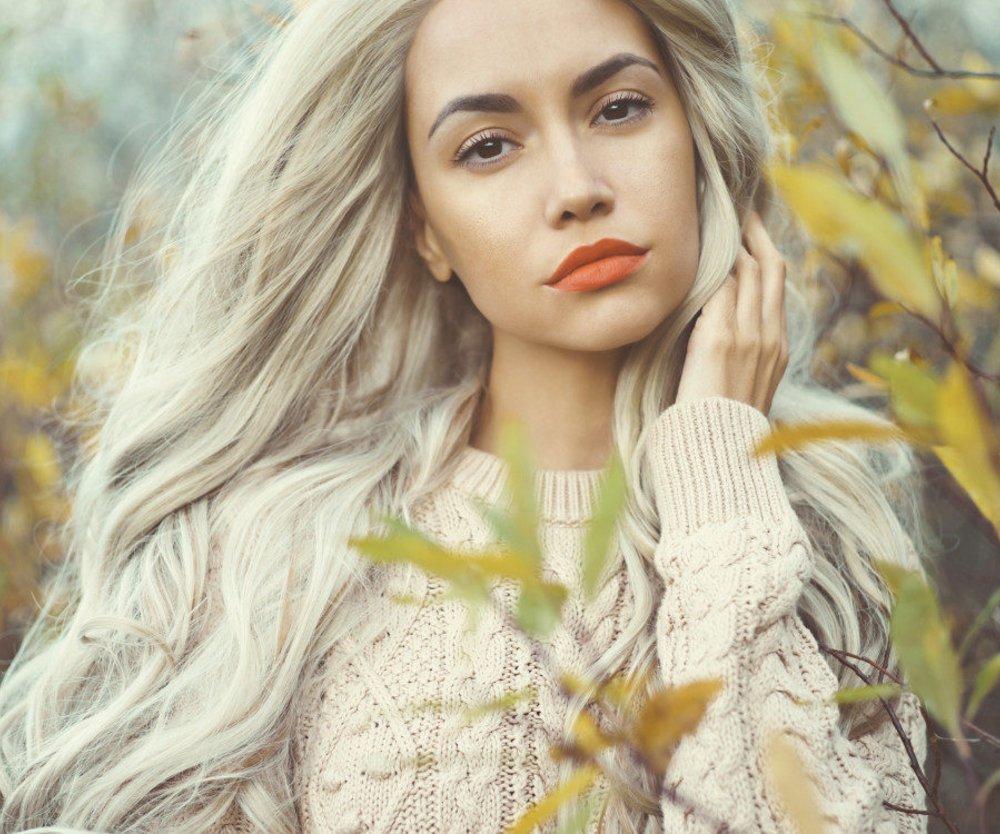Haare entfarben grau