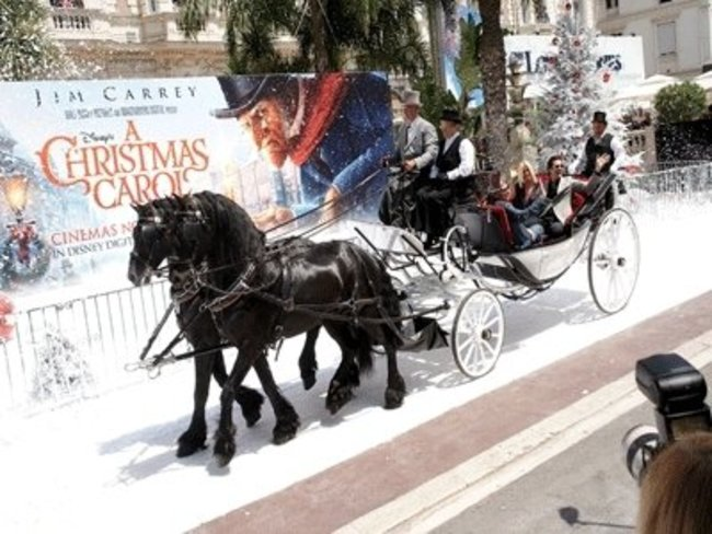 Photocall zu A Christmas Carol in Cannes
