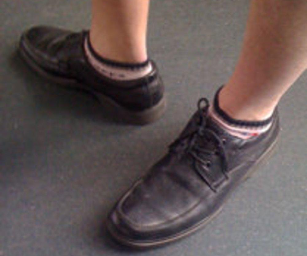 Der Socken-Schreck
