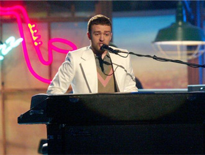 Justin Timberlake trat bei den Grammys auf