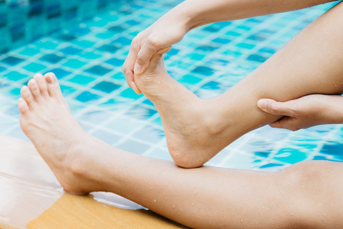 Was hilft gegen Krämpfe - Schwimmen