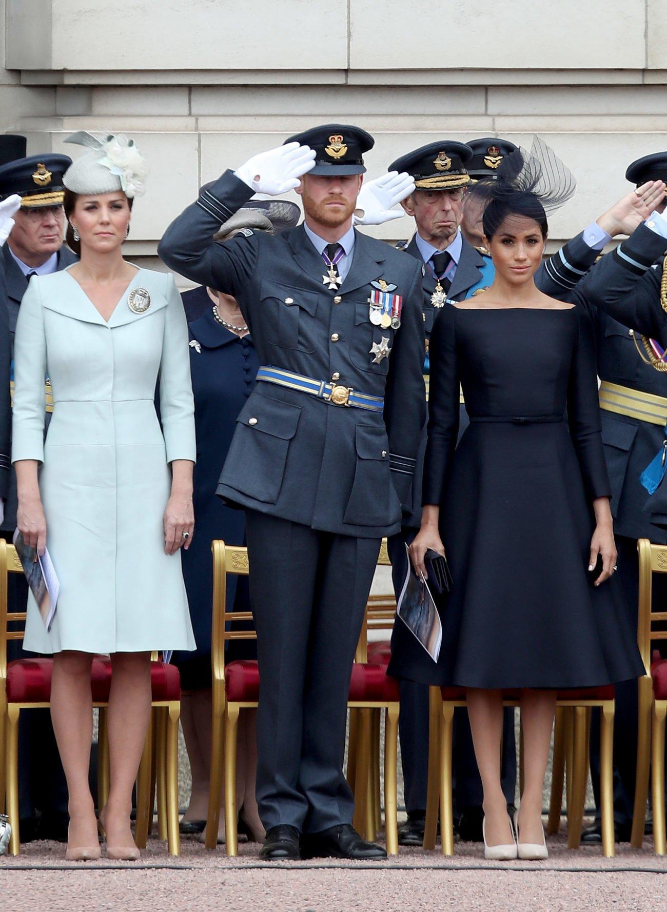Herzogin Kate, Prinz Harry, Herzogin Meghan