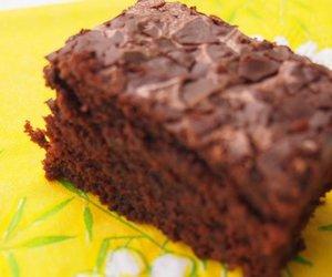 Rotweinkuchen mit Schokolade