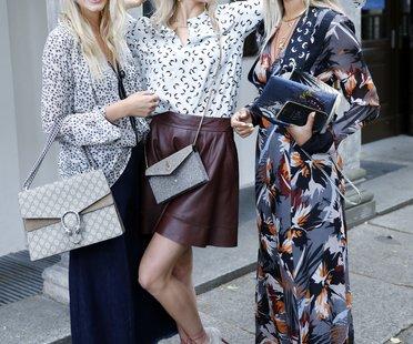 Leonie Sophie Hanne, Caro Daur und Nina Suess