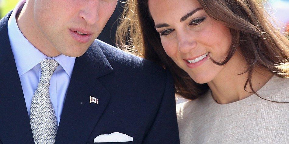 Kate Middleton und Prinz William wollen die Geburt filmen!