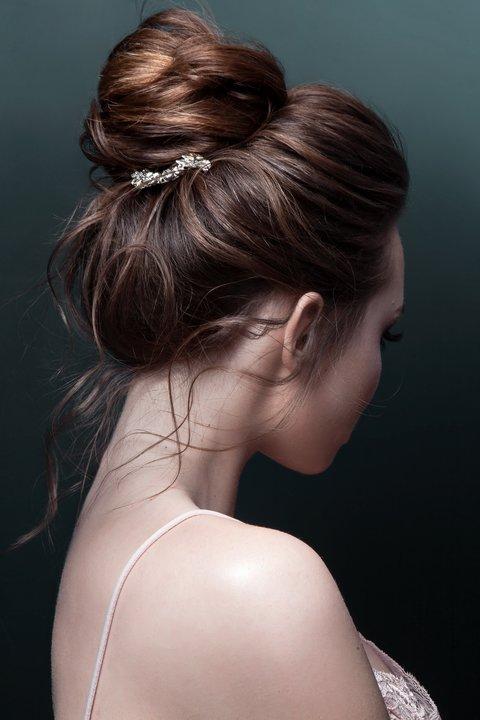 Kirkthemosvi: halb hochgesteckte haare