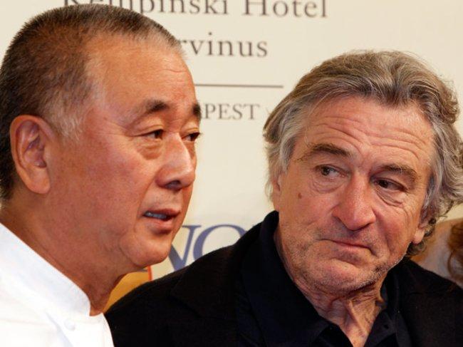 "Nobuyuki ""Nobu"" Matsuhisa und Robert De Niro"
