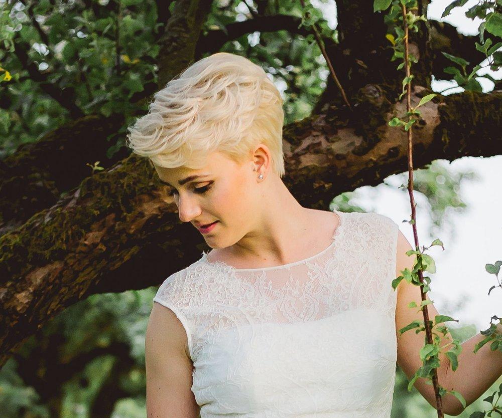 Brautfrisur kurze Haare