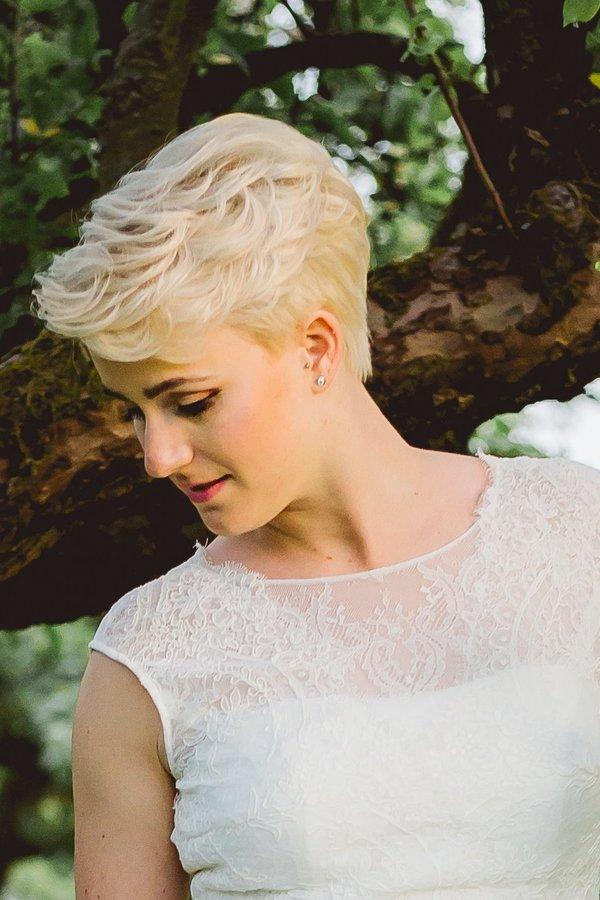 30 Wunderschone Brautfrisuren Fur Kurze Haare Desired De