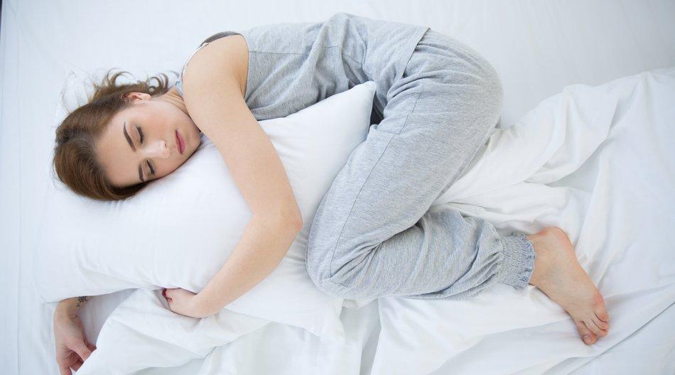 Diese Schlafstellung ist schlecht