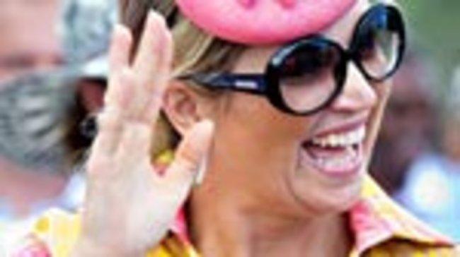 Die niederländische Königin Máxima präsentiert sich stets strahlend und gut gelaunt.