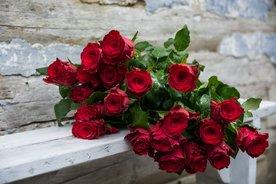 Rosen zur Rubinhochzeit