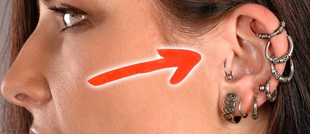 piercing abnehmen