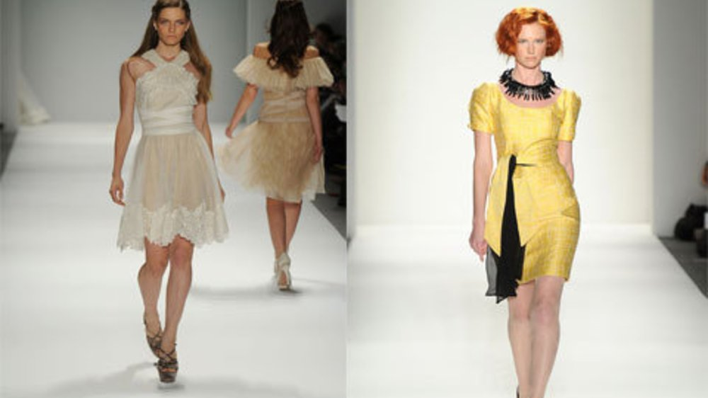 New York Fashion Week feierte die Weiblichkeit