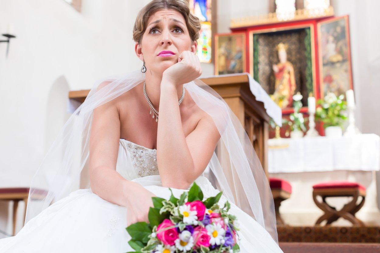Hochzeit abblasen