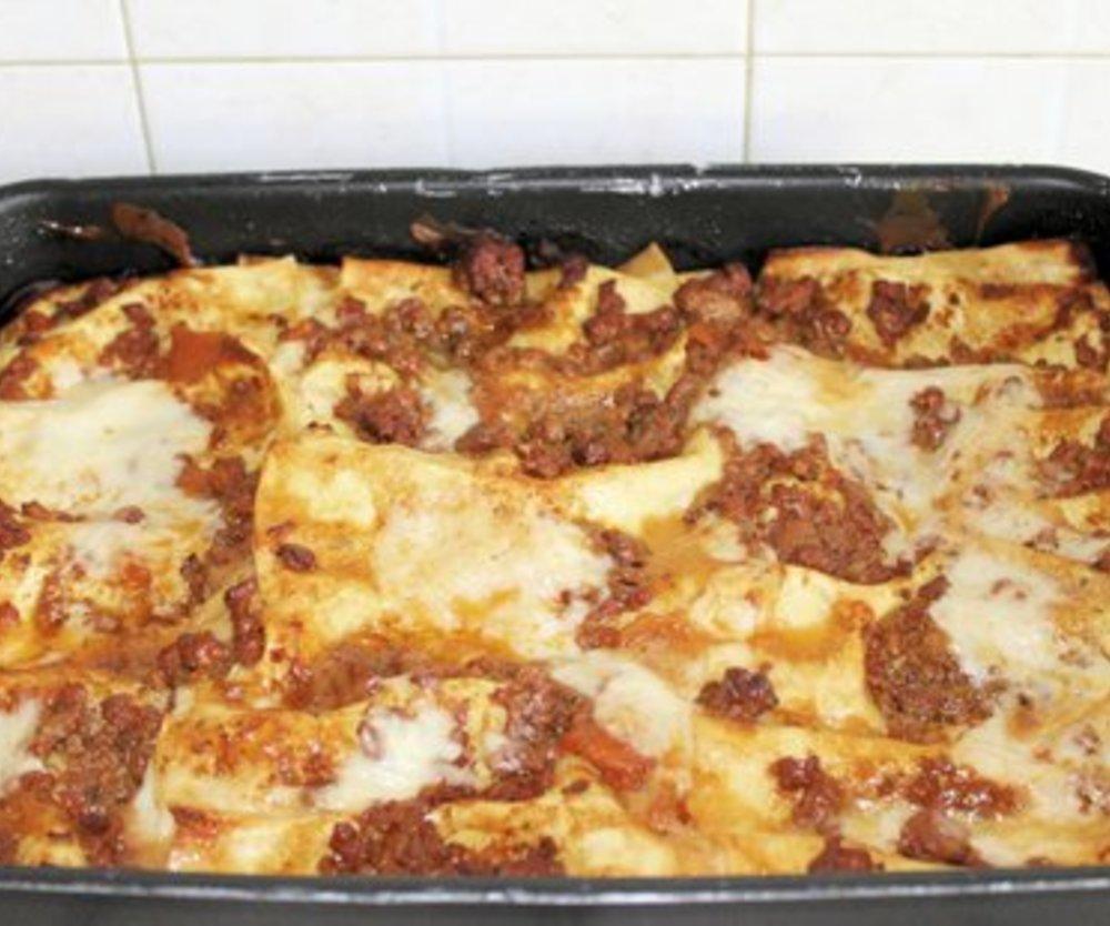 Hackfleisch Lasagne