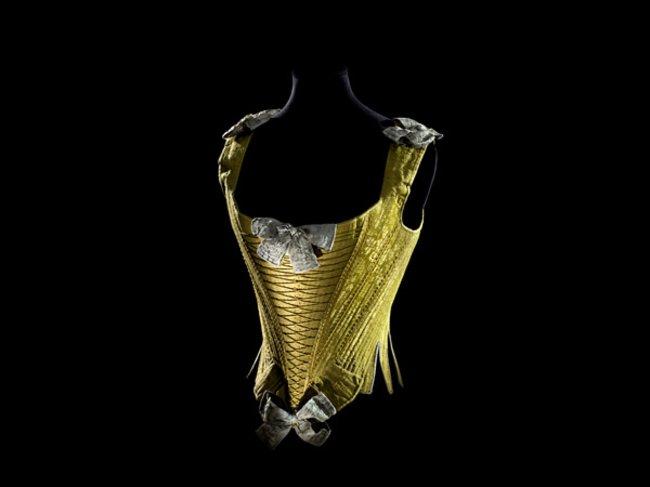 Goldene Korsage