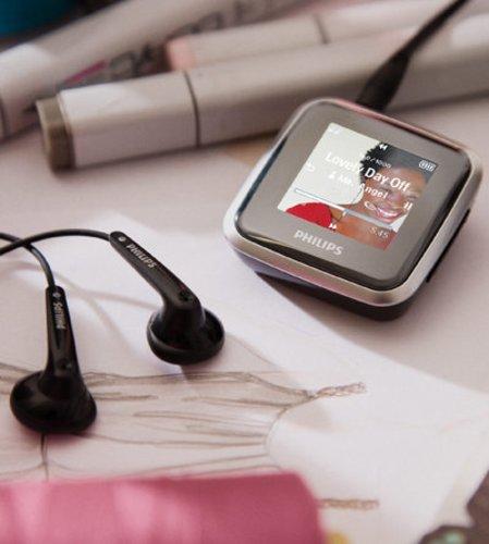 MP3 Player in schwarz
