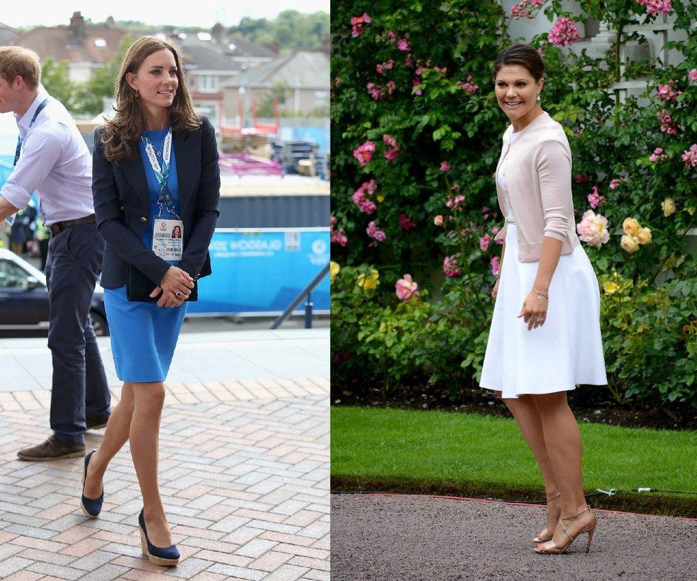 Kate Middleton und Victoria von Schweden: Treffen der Prinzessinnen?