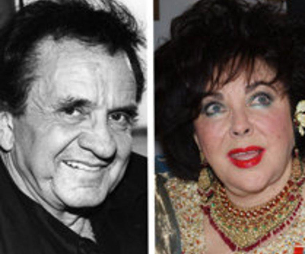 Elizabeth Taylor & Johnny Cash waren Freunde!