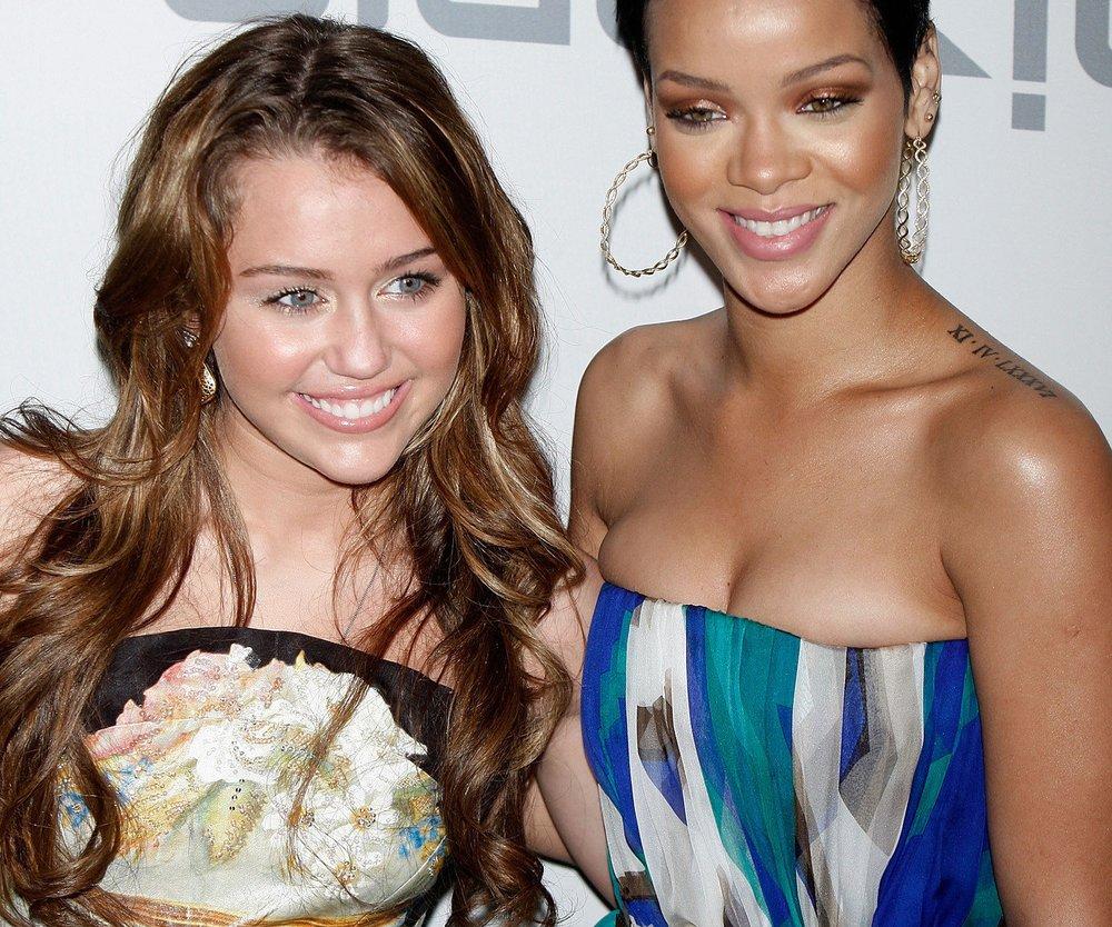 Miley Cyrus: Erotisches Abenteuer mit Rihanna?
