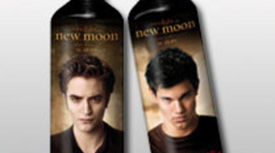 Twilight - New Moon: Robert Pattinson-Trinkflaschen